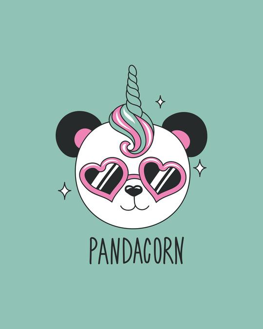 Shop Pandacorn Round Neck 3/4th Sleeve T-Shirt