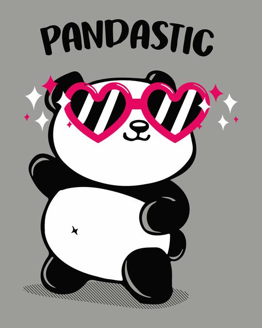 Shop Pandastic Scoop Neck Full Sleeve T-Shirt-Full
