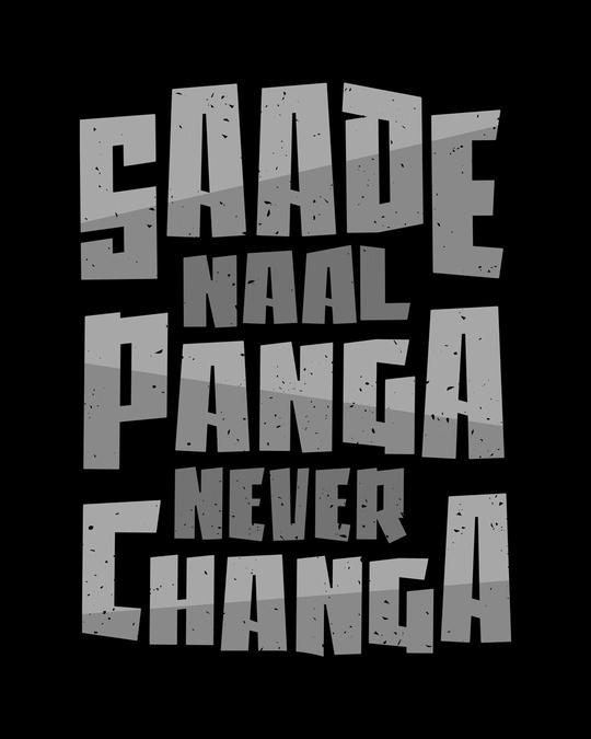 Shop Panga Never Changa Half Sleeve T-Shirt