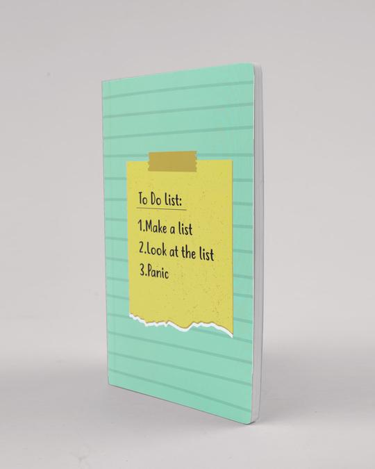 Shop Panic Notebook-Full