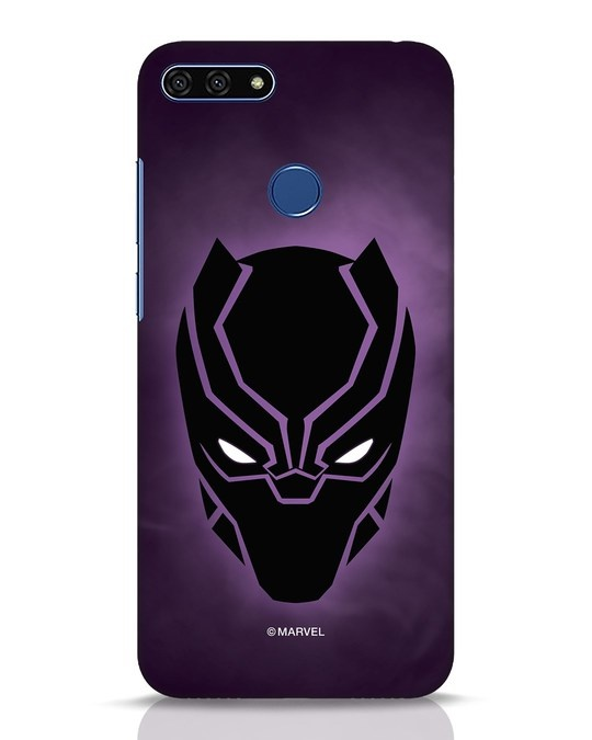Shop Panther Black Huawei Honor 7A Mobile Cover-Front