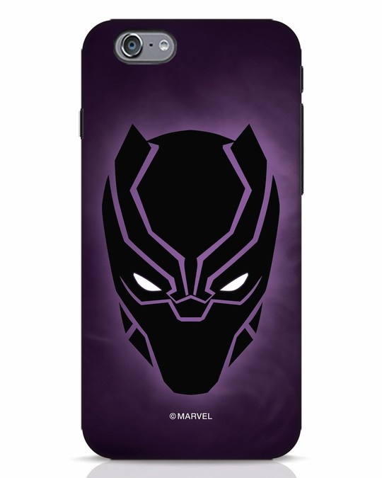 Shop Panther Black iPhone 6s Mobile Cover-Front