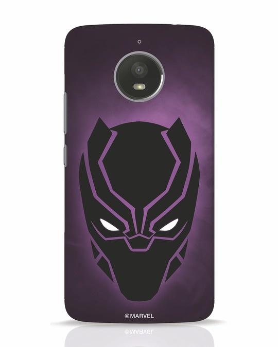 Shop Panther Black Moto E4 Plus Mobile Cover-Front
