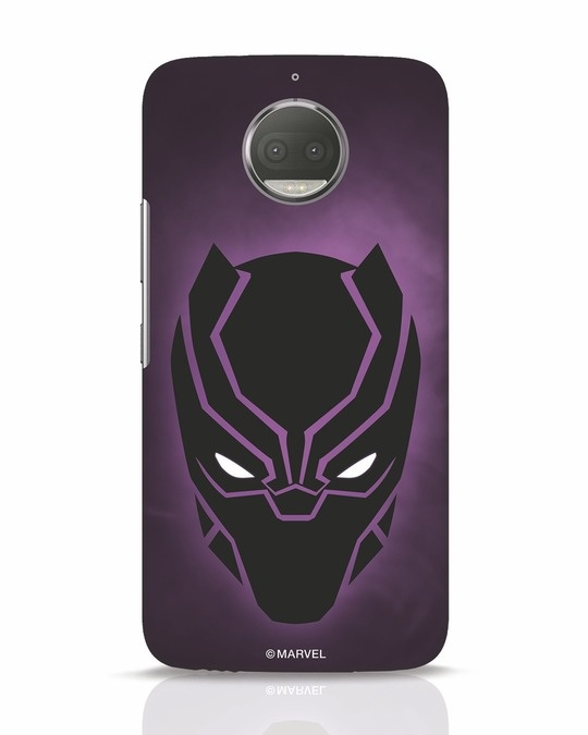 Shop Panther Black Moto G5s Plus Mobile Cover-Front