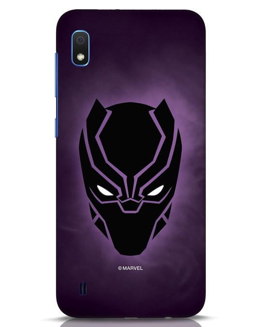 Shop Panther Black Samsung Galaxy A10 Mobile Cover-Front