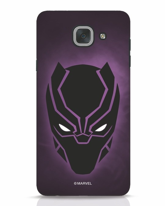 Shop Panther Black Samsung Galaxy J7 Max Mobile Cover-Front