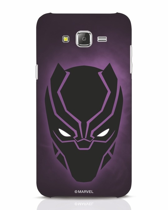 Shop Panther Black Samsung Galaxy J7 Mobile Cover-Front