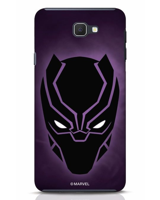 Shop Panther Black Samsung Galaxy J7 Prime Mobile Cover-Front
