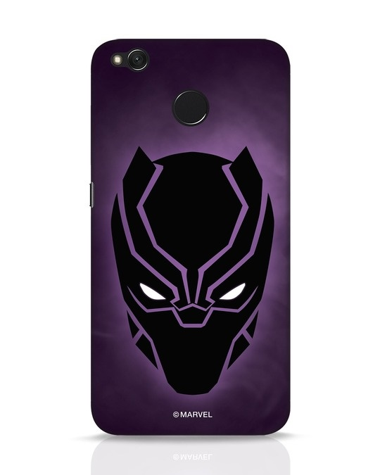 Shop Panther Black Xiaomi Redmi 4 Mobile Cover-Front