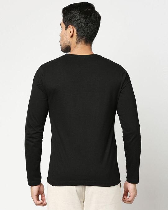 Shop Panther King Full Sleeve T-Shirt Black (AVL)-Back