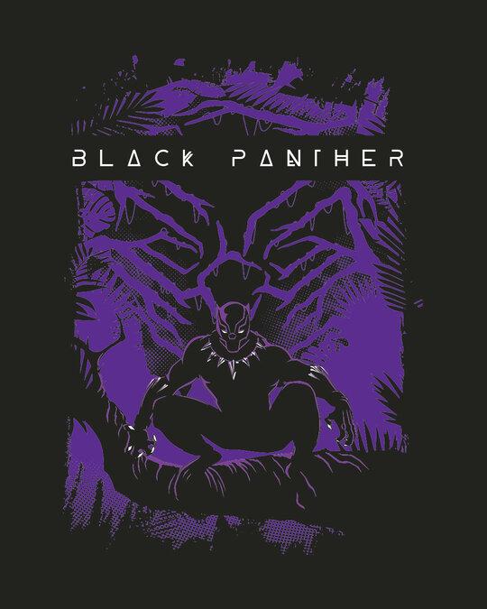 Shop Panther King Full Sleeve T-Shirt Black (AVL)-Full