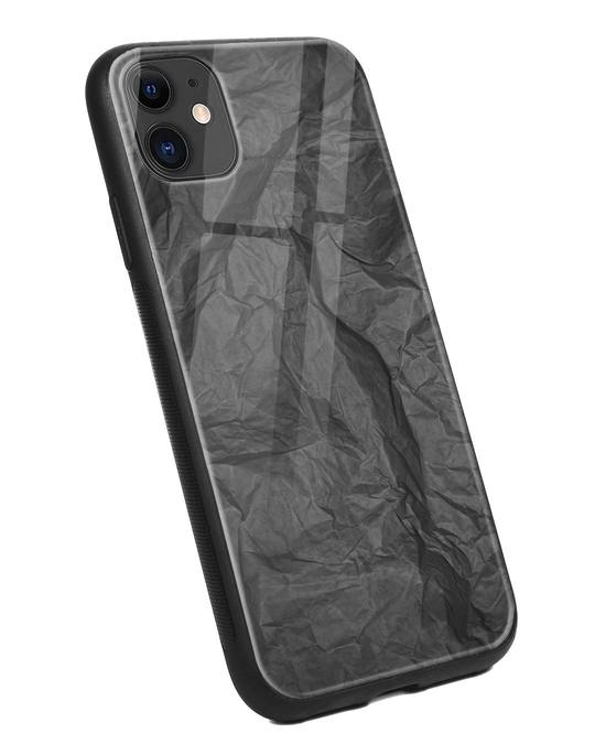 Shop Paper Crush iPhone 11 Glass Mobile Cover-Back