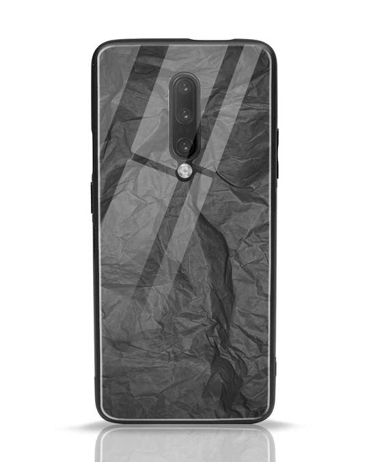 Shop Paper Crush OnePlus 7 Pro Glass Mobile Cover-Front