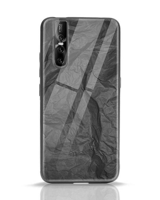 Shop Paper Crush Vivo V15 Pro Glass Mobile Cover-Front
