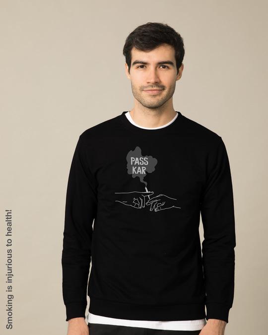 Shop Pass Kar Fleece Light Sweatshirt-Front