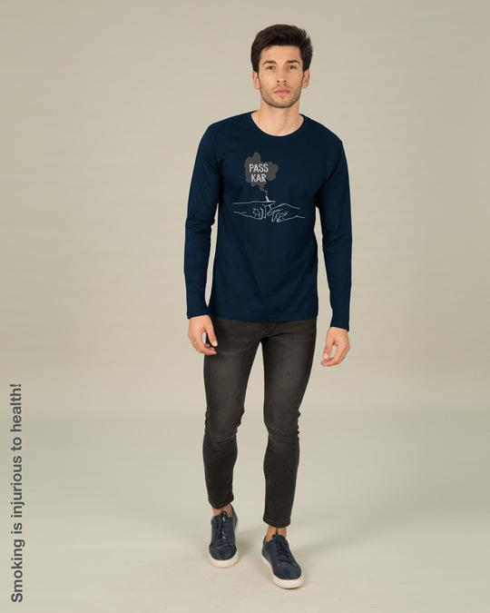 Shop Pass Kar Full Sleeve T-Shirt-Design