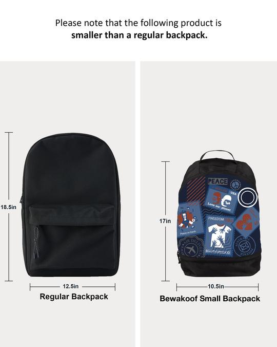 Shop Passport Small Backpack-Full