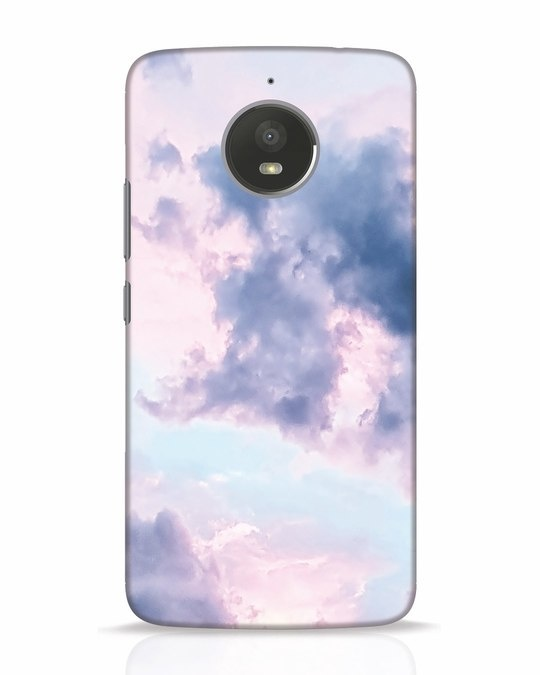 Shop Pastel Cloud Moto E4 Plus Mobile Cover-Front