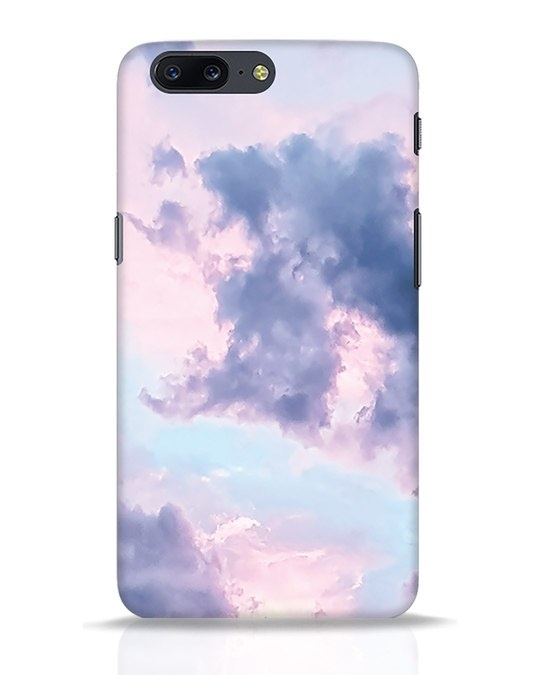 Shop Pastel Cloud OnePlus 5 Mobile Cover-Front