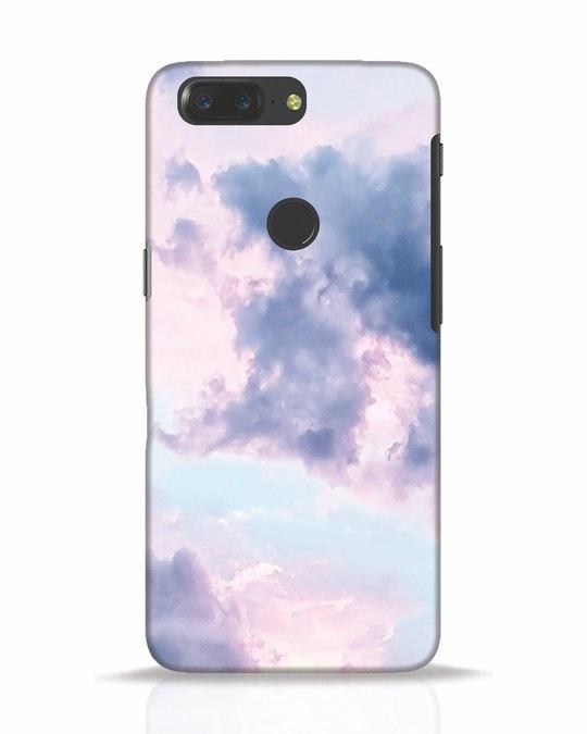 Shop Pastel Cloud OnePlus 5T Mobile Cover-Front