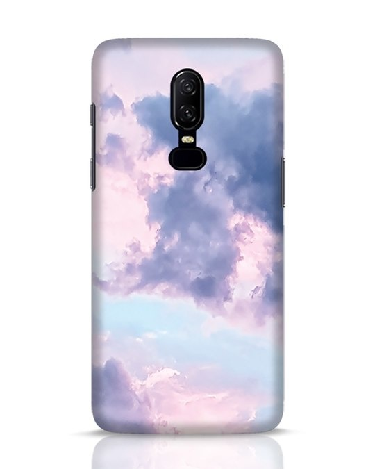 Shop Pastel Cloud OnePlus 6 Mobile Cover-Front