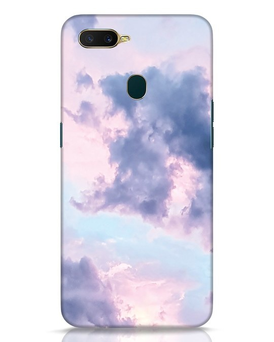 Shop Pastel Cloud Oppo A7 Mobile Cover-Front