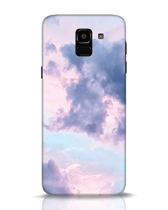 Shop Pastel Cloud Samsung Galaxy J6 Mobile Cover-Front