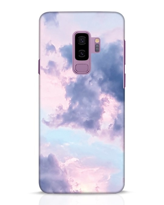 Shop Pastel Cloud Samsung Galaxy S9 Plus Mobile Cover-Front