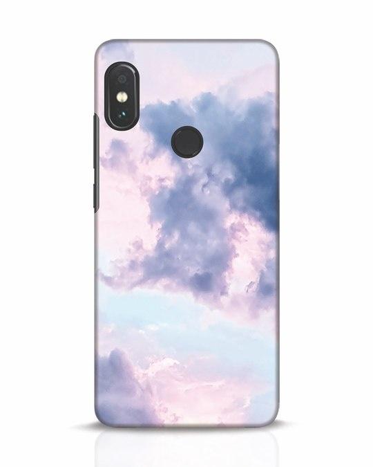Shop Pastel Cloud Xiaomi Redmi Note 5 Pro Mobile Cover-Front