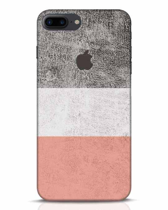 info for 173a6 9d22b Pastel iPhone 8 Plus Logo Cut Mobile Cover