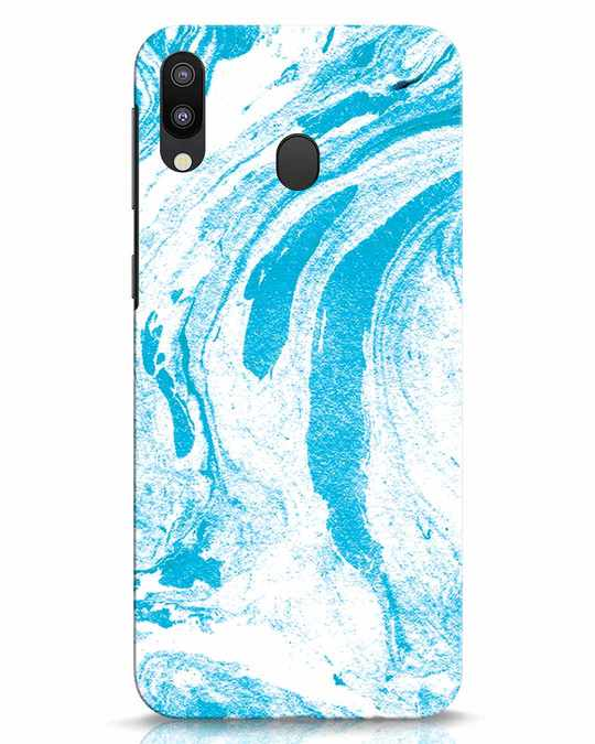 Shop Pastel Marble Samsung Galaxy M20 Mobile Cover-Front