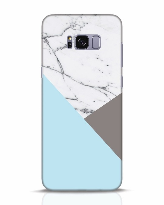 Shop Pastel Marble Samsung Galaxy S8 Plus Mobile Cover-Front