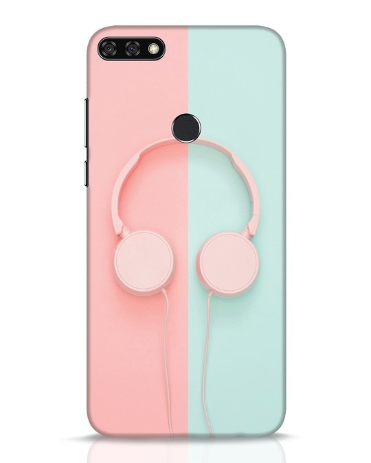 Shop Pastel Music Huawei Honor 7C Mobile Cover-Front
