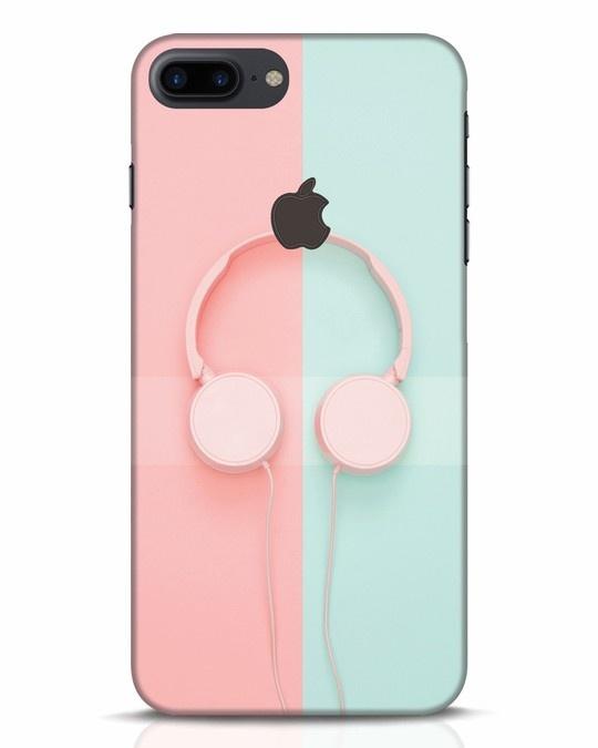 Shop Pastel Music iPhone 7 Plus Logo Cut Mobile Cover-Front
