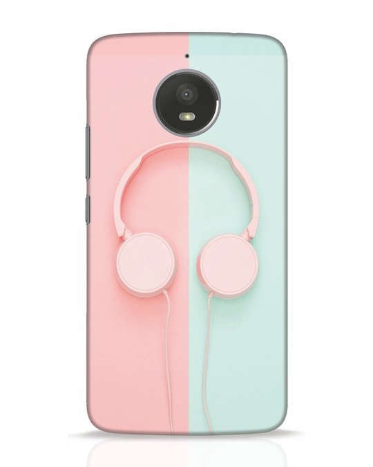 Shop Pastel Music Moto E4 Plus Mobile Cover-Front