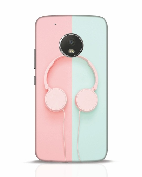 Shop Pastel Music Moto G5 Plus Mobile Cover-Front