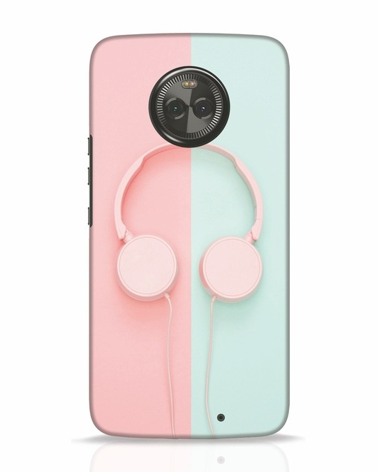 Shop Pastel Music Moto X4 Mobile Cover-Front