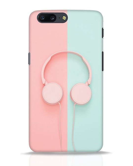 Shop Pastel Music OnePlus 5 Mobile Cover-Front