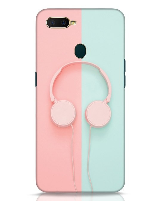 Shop Pastel Music Oppo A7 Mobile Cover-Front