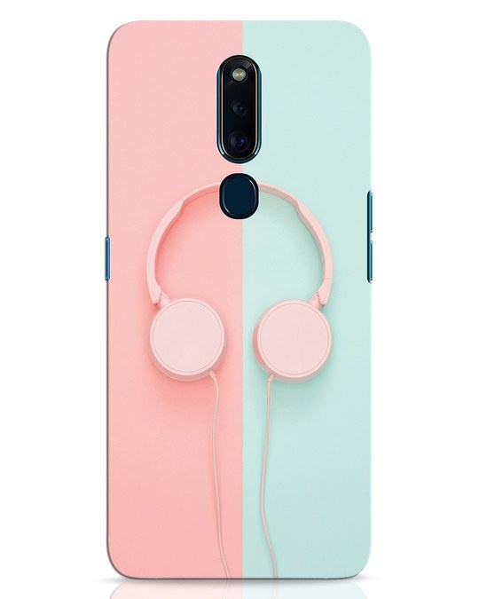 Shop Pastel Music Oppo F11 Pro Mobile Cover-Front