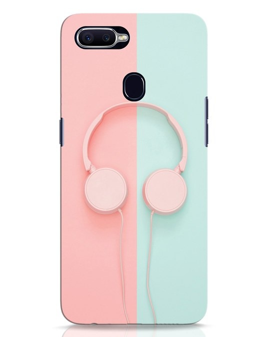 Shop Pastel Music Oppo F9 Pro Mobile Cover-Front