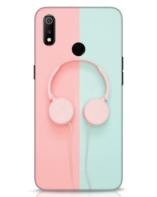 Shop Pastel Music Realme 3 Mobile Cover-Front