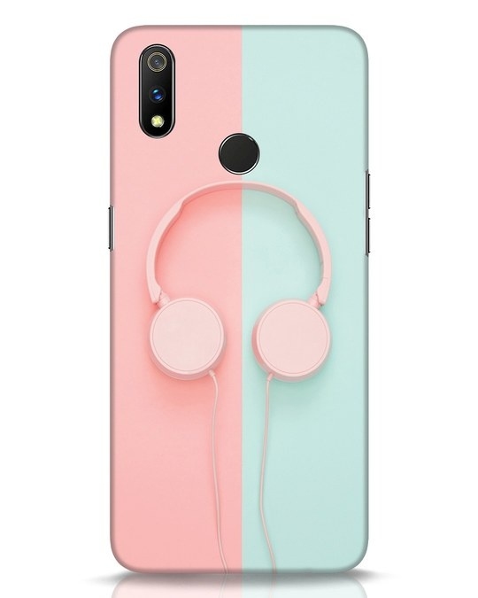 Shop Pastel Music Realme 3 Pro Mobile Cover-Front