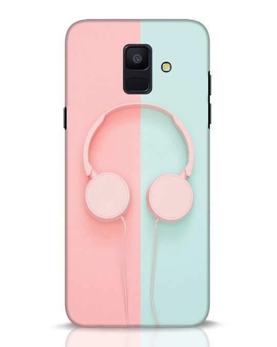 new styles d2616 d0999 Pastel Music Samsung Galaxy A6 2018 Mobile Cover