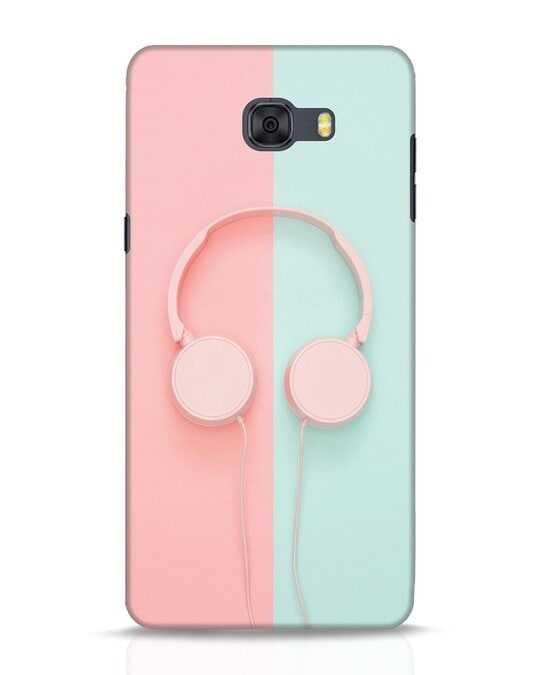 Shop Pastel Music Samsung Galaxy C9 Pro Mobile Cover-Front