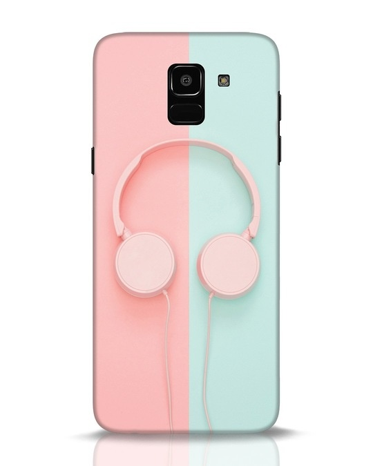 Shop Pastel Music Samsung Galaxy J6 Mobile Cover-Front