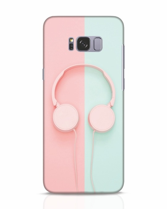 Shop Pastel Music Samsung Galaxy S8 Mobile Cover-Front