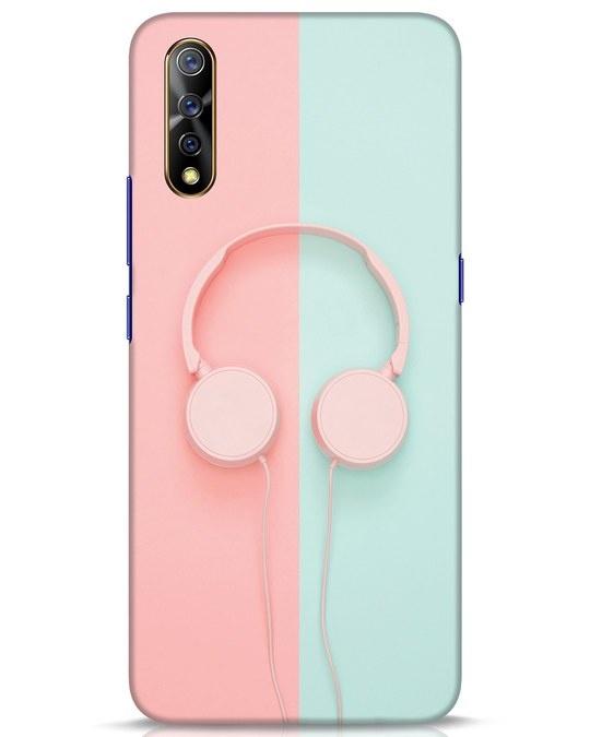 Shop Pastel Music Vivo S1 Mobile Cover-Front
