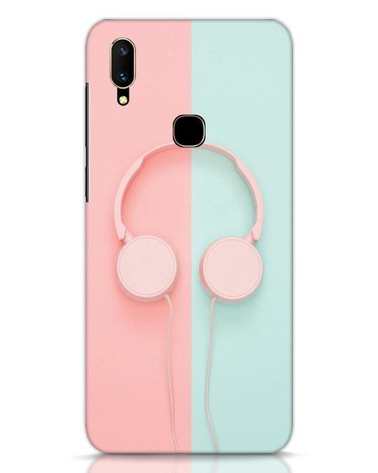 Shop Pastel Music Vivo V11 Mobile Cover-Front