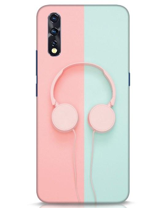 Shop Pastel Music Vivo Z1x Mobile Cover-Front